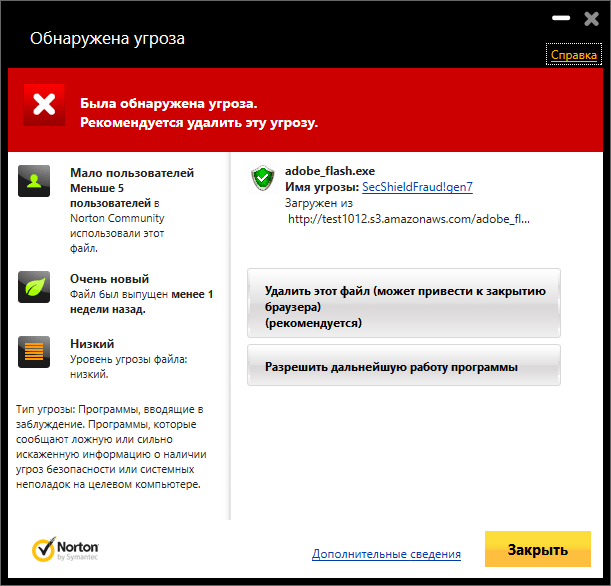 Обзор Norton Antivirus (2014): Функция Insight