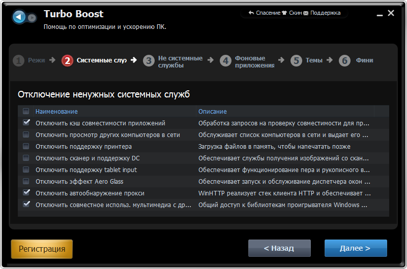 Advanced SystemCare с Антивирусом 2013: Turbo Boost