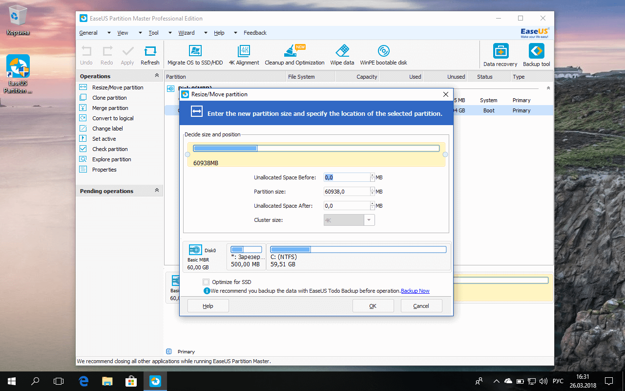 download easeus partition master free 10.2