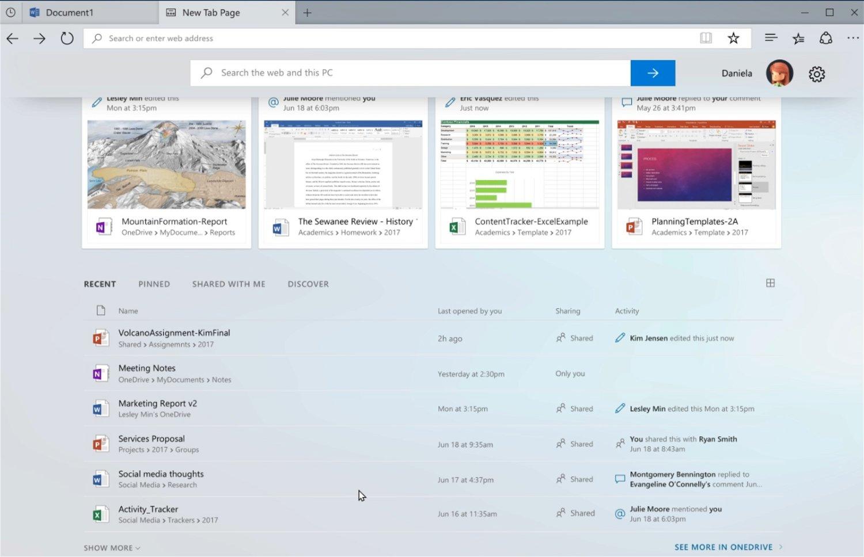 Sets - группировка приложение и сайтов в одном окне