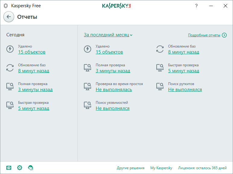 Настройка Kaspersky Internet Security. Защита
