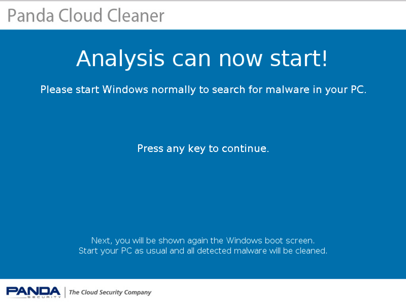 Panda Cloud Cleaner Rescue ISO