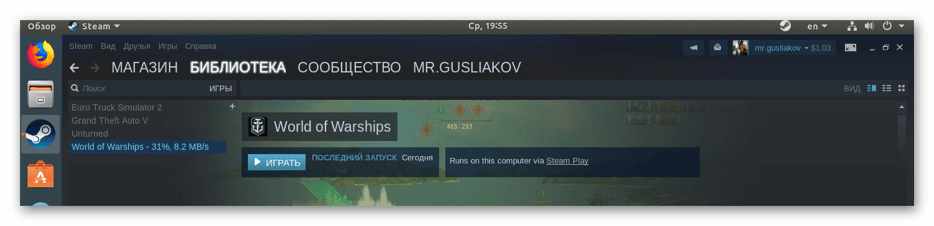 Steam Play
