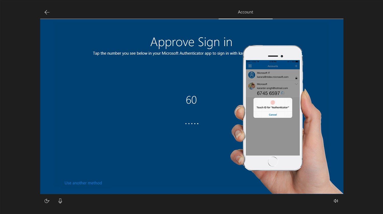 Microsoft Authenticator и Windows 10