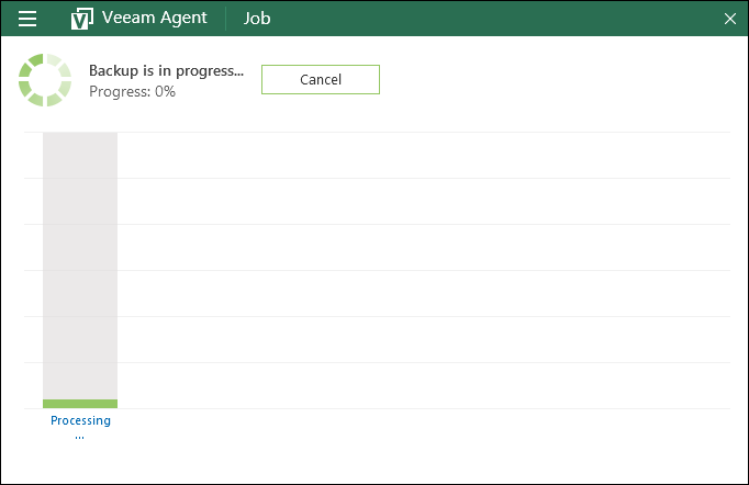 Veeam Agent for Microsoft Windows FREE - Скриншоты
