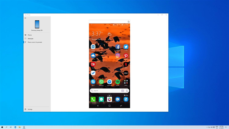 Дублирование экрана Android-смартфона на ПК
