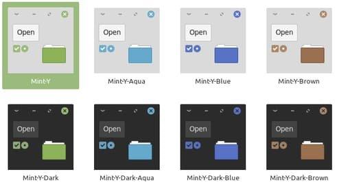 Linux Mint 19.1 «Tessa» – набор приложений Xapps