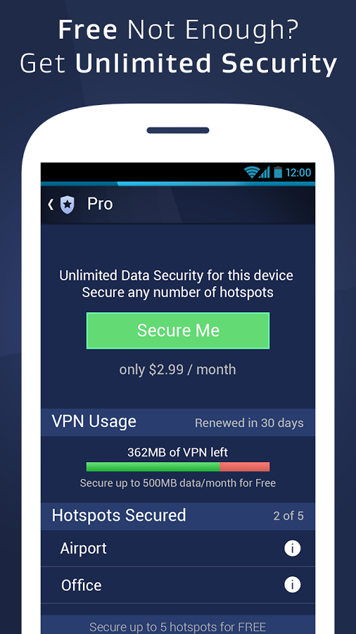 AVG WiFi Assistant для Android: Pro-версия