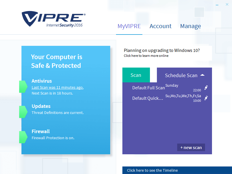 ThreatTrack VIPRE Internet Security